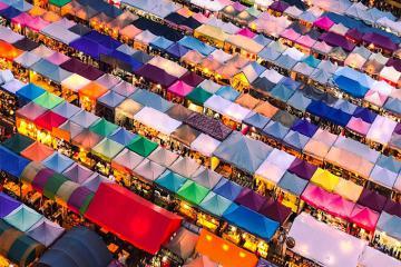 7 khu chợ đêm sầm uất ở Bangkok bạn nên ghé qua