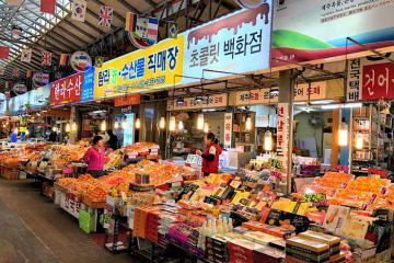 Đến Hàn Quốc, ghé ngay các khu chợ truyền thống trên đảo Jeju