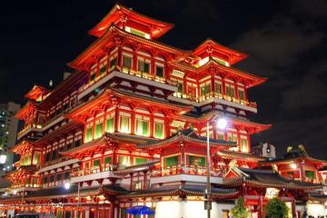 Chùa Răng Phật - kiến trúc Trung Hoa tinh tế giữa lòng quốc đảo sư tử