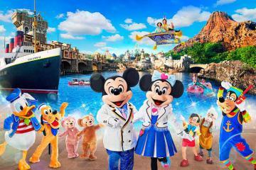 Khám phá công viên giải trí Tokyo DisneySea, Nhật Bản