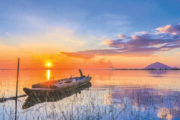 Xách balo lên và khám phá ngay đảo Nhím ở Tây Ninh