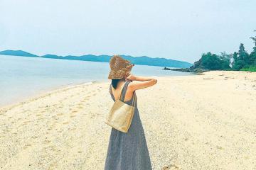 Du lịch đảo Cái Chiên hoang sơ đầy cuốn hút ở Quảng Ninh