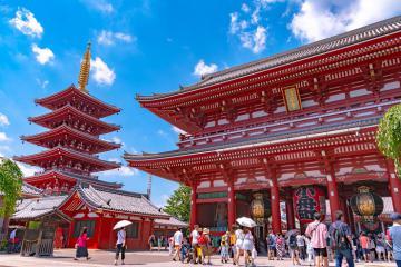 Thăm Senso-ji - ngôi đền cổ nhất Tokyo