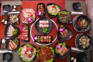 Địa chỉ ăn buffet ngon ở Hà Nội ngày 20/10