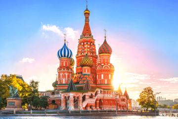Nhà thờ thánh Basil - tòa lâu đài trong chuyện cổ tích giữa Matxcova