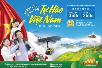 Sun World Fansipan Legend Sapa giảm 50% giá vé cho khách trong nước