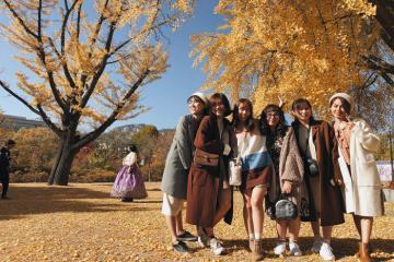 Mặc gì khi đi du lịch Hàn Quốc vào mùa thu