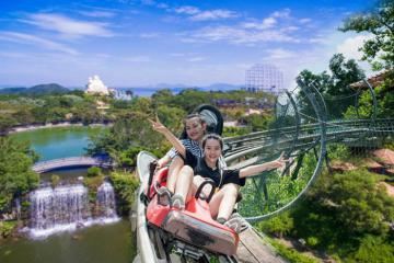 Miễn phí vé tham quan, vui chơi Hồ Mây Park, Vũng Tàu