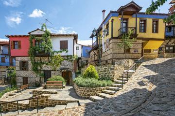 Xách balo lên khám phá những ngôi làng quyến rũ nhất Hy Lạp