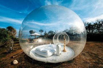 Khách sạn bong bóng ở Bali có gì hot mà giới trẻ phát sốt?