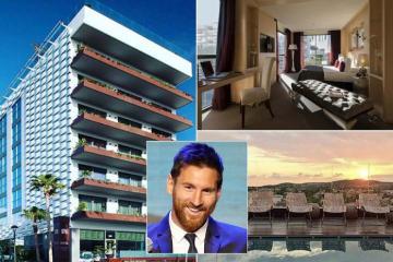 Khách sạn 4 sao MiM Sitges của Messi hút tín đồ bóng đá check-in