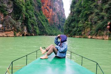 Vùng biên viễn Hà Giang bình yên trong mắt cô gái trẻ Hà Nội