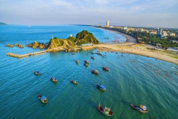 Kinh nghiệm du lịch đảo Lan Châu – hòn đảo đẹp nhất Cửa Lò