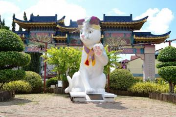 Du lịch Malaysia: Ghé thăm 'thành phố mèo' Kuching