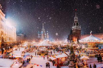 Du lịch mùa đông nước Nga: Ngắm tuyết trắng bao trùm xứ sở Bạch Dương
