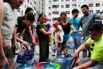 Chất Styren gây mùi lạ cho nguồn nước sông Đà