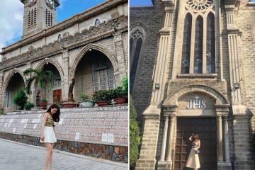Nhà thờ đá Nha Trang – điểm 'sống ảo' đẹp tựa trời Tây