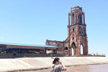 Thăm nhà thờ đổ Hải Lý, Nam Định - 'Tháp nghiêng Pisa phiên bản Việt'