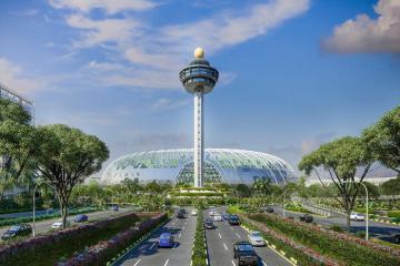 Singapore cải tạo sân bay Changi thành khu rừng nhân tạo độc đáo