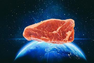 Thịt nhân tạo lần đầu tiên được tạo ra trong không gian
