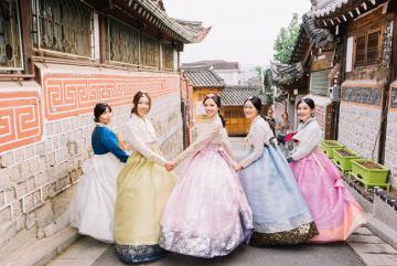 Thuê hanbok tại Hàn Quốc giá rẻ không thể bỏ qua bí kíp này