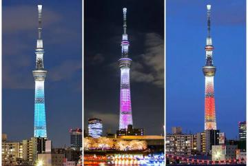 Tháp truyền hình Tokyo Skytree - niềm tự hào của thủ đô Nhật Bản