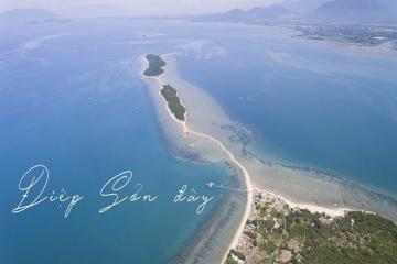 Hành trình trải nghiệm đảo Điệp Sơn, Nha Trang của cô gái trẻ