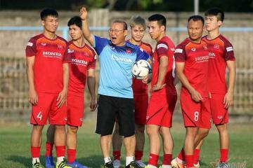 Đội tuyển Việt Nam đã sẵn sàng cho trận đấu tối nay