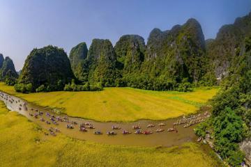 Cảnh sắc Việt Nam từ Bắc xuống Nam đẹp say đắm lòng người