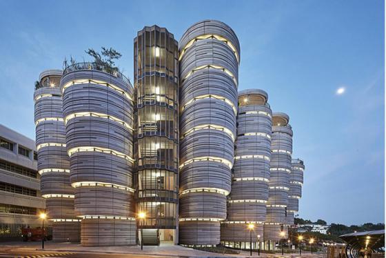 Tòa nhà hình giỏ Dimsum - tọa độ sống ảo mới tại Singapore