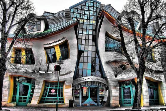 Du lịch Ba Lan: Khám phá tòa nhà Krzywy Domek 'nhảy múa'