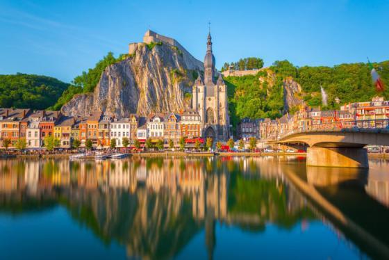 Du lịch Bỉ: Khám phá thành phố Dinant yên bình như mơ