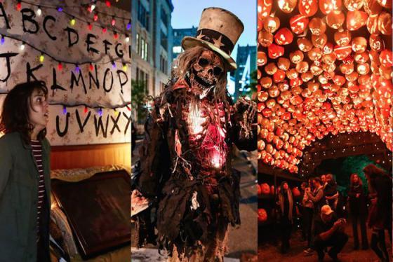 Lễ hội Halloween tưng bừng trên khắp nước Mỹ