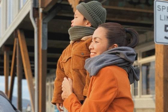Tăng Thanh Hà hé lộ mặt con trai cưng trong chuyến du lịch Mỹ