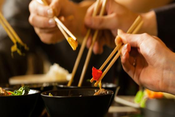 Văn hóa dùng đũa khi ăn của một số quốc gia ở châu Á