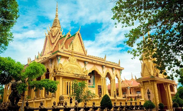 ngôi chùa Khmer
