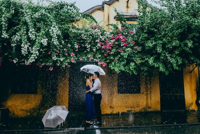 đi du lịch trong mùa mưa