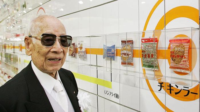 Momofuku Ando là người đã sáng chế ra món mì Ramen. Ảnh: ABC News.