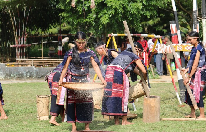 Visitors have the opportunity to learn about the culture and daily activities of the Ba Na ethnic people.Photo: Gia Lai