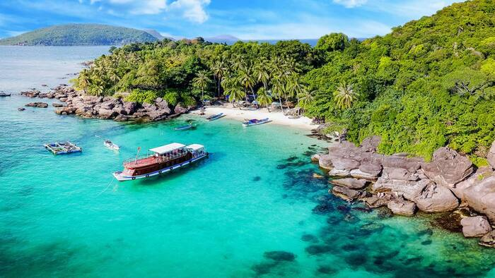 Explore the Kien Giang Pirate Islands - The beautiful 'raw pearl' of the sea and islands of Vietnam