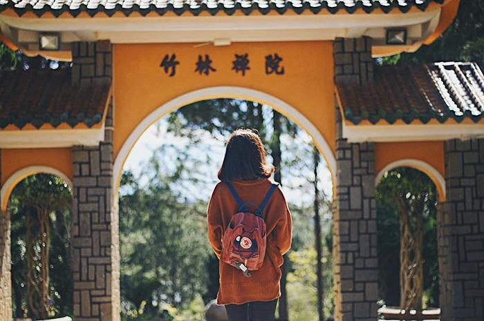 Thiền Viện Trúc Lâm tại Đà Lạt.
