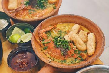 No bụng với 5 món bánh canh mới lạ cực hút khách ở Sài Gòn