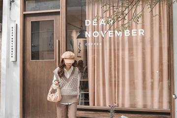 Quán cafe Dear November - tọa độ sống ảo mới 'đậm chất Hàn' của giới trẻ Hà Nội