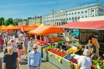 Du lịch Phần Lan: Dạo quanh chợ Helsinki và 'ăn hàng' như người bản xứ
