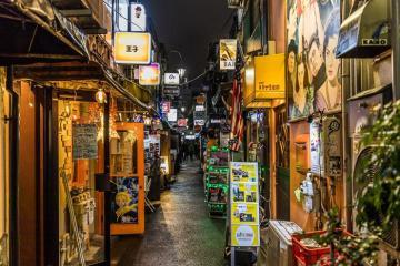Sống chậm tại những quán bar cũ ở Golden Gai, Tokyo