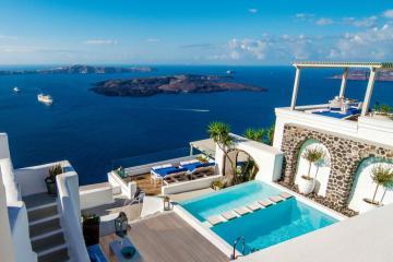 5 khách sạn đẹp tại đảo thiên đường Santorini cho kỳ nghỉ lãng mạn