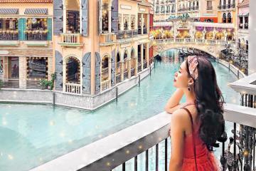 Ngắm Venice thơ mộng và sang chảnh giữa lòng Taguig, Philipines
