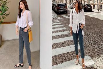 4 tips mặc quần jean chuẩn sành điệu, chuẩn đẹp cho nàng văn phòng
