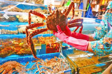 Khám phá khu chợ hải sản Noryangjin lớn nhất Seoul