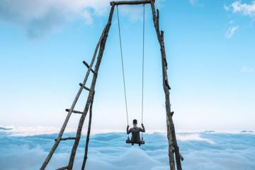 Chinh phục Bạch Mộc Lương Tử, trải nghiệm xích đu giữa biển mây ở Lai Châu